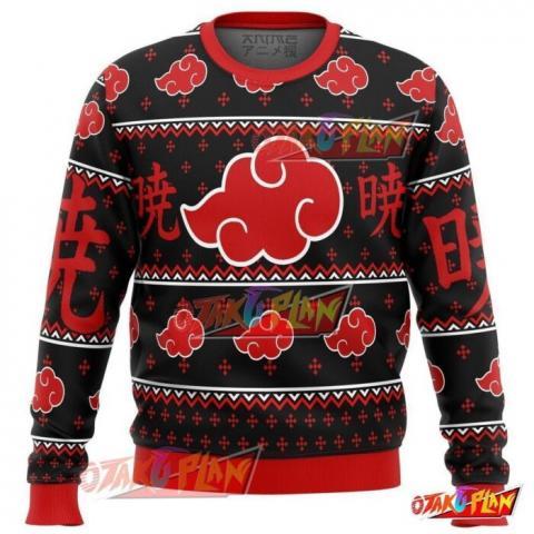 Akatsuki Naruto Premium Ugly Christmas Sweater