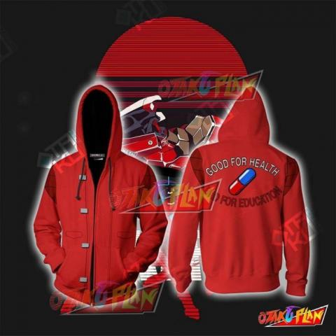 Akira Shotaro Kaneda Cosplay Zip Up Hoodie Jacket