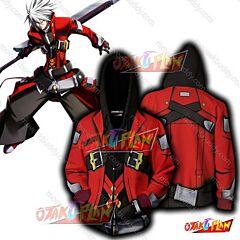 Blazblue Ragna the Bloodedge Hoodie Cosplay Jacket Zip Up