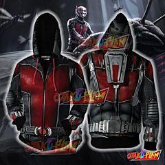 Ant Man Hoodie Cosplay Jacket Zip Up