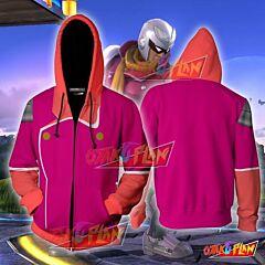 Captain Falcon Pink Hoodie Cosplay Jacket Zip Up