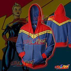 Captain America Hoodie - Ms.Marvel Jacket