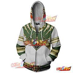 Power Rangers Green Hoodie Jacket