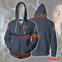 ALIEN - Ellen Ripley Nostromo Crew Cosplay Hoodie