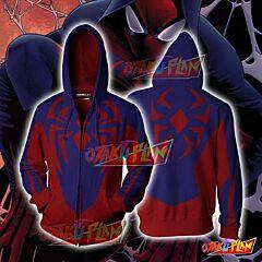All-New Scarlet Spider Game play Zip Up Hoodie Jacket