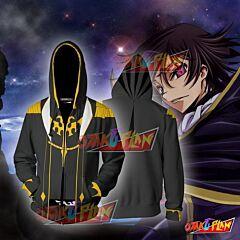 Code Geass Lelouch Lamperouge Hoodie Cosplay Jacket Zip Up