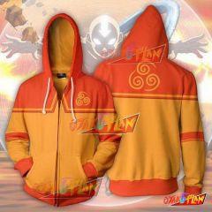 Avatar The Last Airbender Hoodies - Aang Zip Up Hoodie Jacket