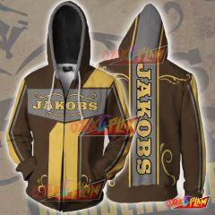 Borderlands Hoodies - Borderlands Jakobs Zip Up Hoodie Jacket