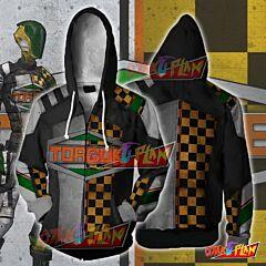 Borderlands Hoodies - Borderlands Torgue V2 Zip Up Hoodie Jacket