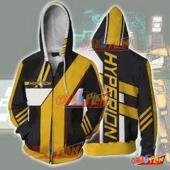 Borderlands Hoodies - Borderlands Hyperion Zip Up Hoodie Jacket