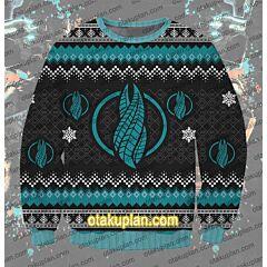 Dead Space 3D Print Ugly Christmas Sweatshirt