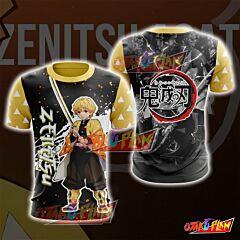Demon Slayer Kimetsu No Yaiba Agatsuma Zenitsu T-shirt