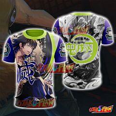 Demon Slayer Kimetsu No Yaiba Inosuke Hashibira T-Shirt