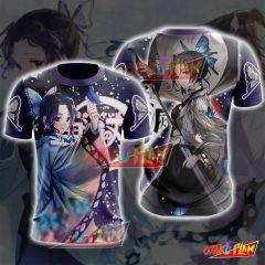 Demon Slayer Kimetsu No Yaiba Shinobu Kochou T-shirt