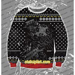 Dorohedoro 3D Print Ugly Christmas Sweatshirt