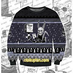 Dorohedoro Ebisu 3D Print Ugly Christmas Sweatshirt