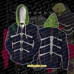 Dorohedoro Kaiman Cosplay Zip Up Hoodie