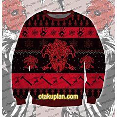 Dorohedoro Shin 3D Print Ugly Christmas Sweatshirt