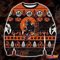 Dragon Ball 1710 3D Print Ugly Christmas Sweatshirt