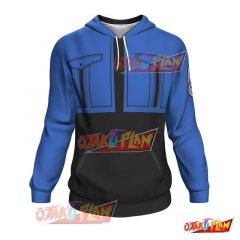 Dragon Ball All Over Print Pullover Hoodie