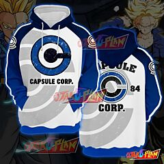 Dragon Ball Capsule Corp Pullover Hoodie