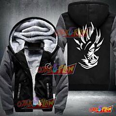 Dragon Ball Classical Goku Stylish Fleece Winter Jacket