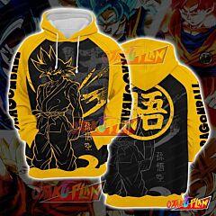 Dragon Ball Goku Super Saiyan Pullover Hoodie V2
