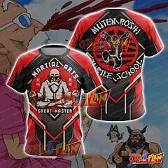 Dragon Ball Master Roshi Martial Arts T-shirt