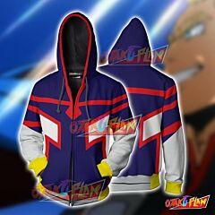 Boku No Hero Academia Young All Mighty Hoodie Cosplay Jacket Zip Up