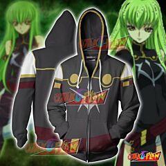Code Geass C.C Hoodie Cosplay Jacket Zip Up