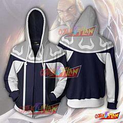 Avatar The Last Airbender Iroh Zip Up Hoodie Jacket
