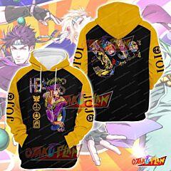 JoJo's Bizarre Adventure V3 Pullover Hoodie