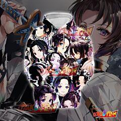 Demon Slayer Kimetsu no Yaiba Kochou Shinobu Purple Emoticon Hoodie