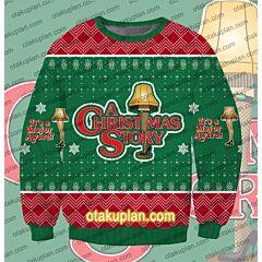 Major Award Christmas Story 3D Print Ugly Christmas Sweatshirt