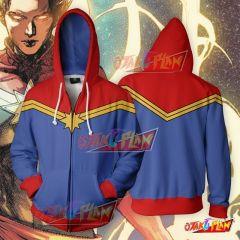 Captain Marvel Classic Cosplay Hoodie