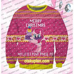 My Little Pony Pinkie Pie 3D Print Ugly Christmas Sweatshirt