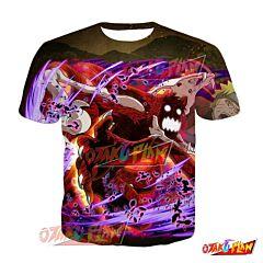 Naruto Naruto Uzumaki Blind Rage Blazing Awakened T-Shirt