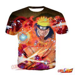 Naruto Naruto Uzumaki Power of Determination Blazing Awakened T-Shirt