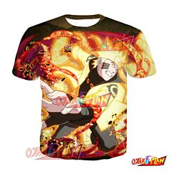 Naruto Naruto Uzumaki The Future We Want Blazing Awakened T-Shirt