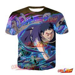 Naruto Obito Uchiha Hollow Heart Blazing Awakened T-Shirt