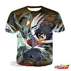 Naruto Obito Uchiha Into Total Darkness Blazing Awakened T-Shirt