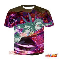 Naruto Obito Uchiha Wrapped in Mysteries Blazing Awakened T-Shirt