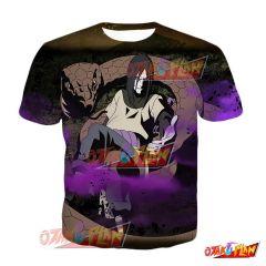 Naruto Orochimaru Winds of Chaos Blazing Awakened T-Shirt