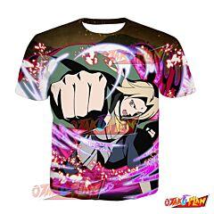Naruto Tsunade Daring Courage Blazing Awakened T-Shirt