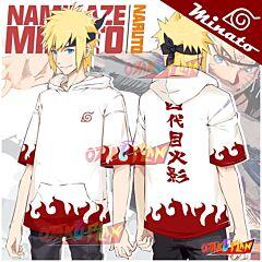 Naruto Minato Namikaze Hooded T-shirt