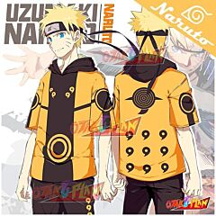 Naruto Six Paths Naruto Hooded T-shirt