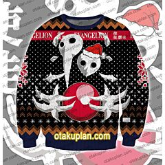 Neon Genesis Evangelion Sachiel 3D Print Ugly Christmas Sweatshirt