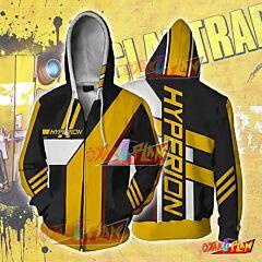 Borderlands Hyperion Zip Up Hoodie Jacket