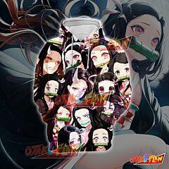 Demon Slayer Kimetsu no Yaiba Nezuko Emoticon Hoodie