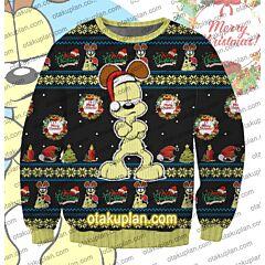 Odie From Garfield 3D Print Ugly Christmas Sweatshirt